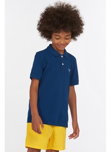 Barbour Erkek Çocuk Tartan Polo Yaka Bl91 Deep Blue Mavi